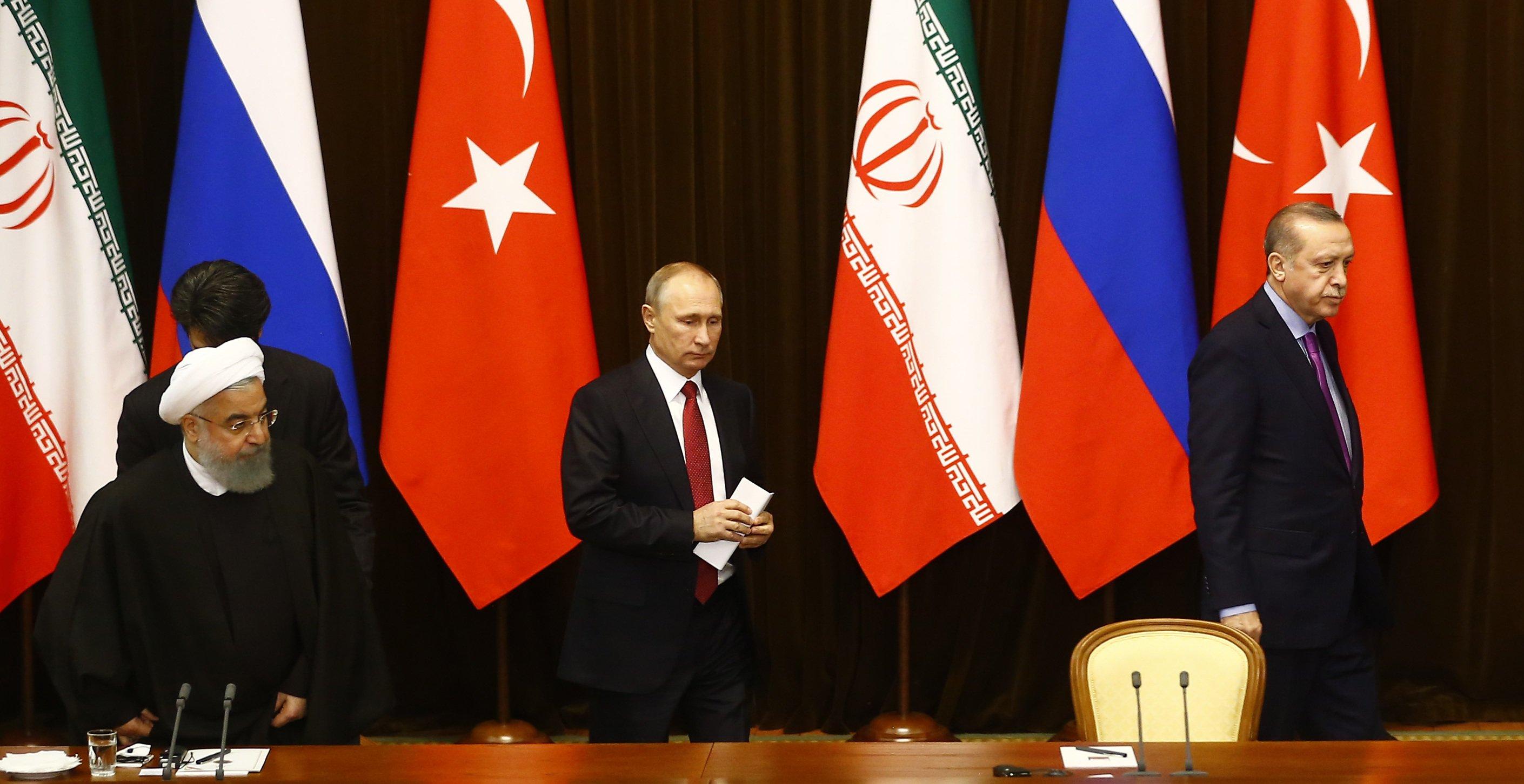 معضلة إيران وتركيا وروسيا فى سوريا قبل قمة طهران