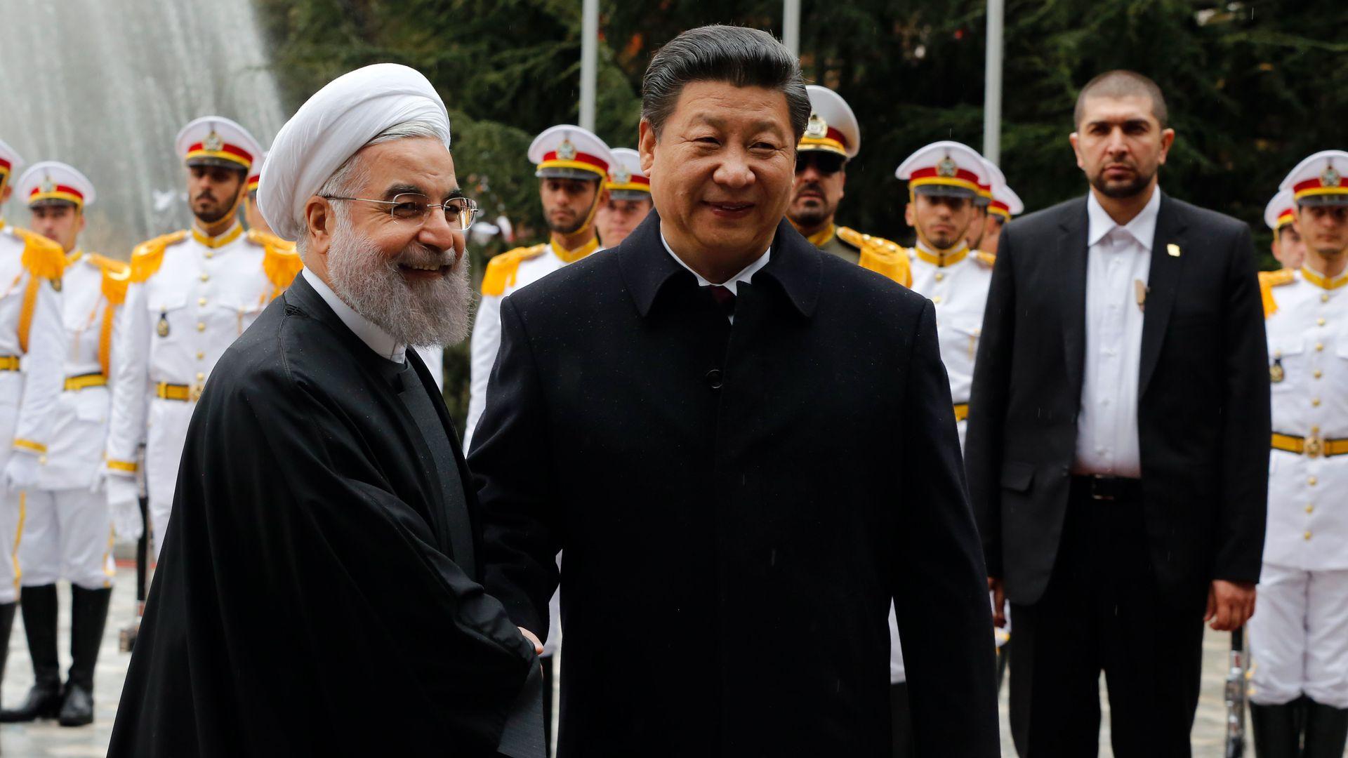 تحالف تكتيكي: شركاء إيران بعد العقوبات الأمريكية