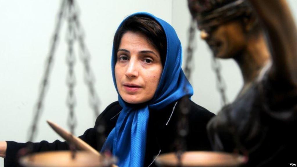 هل تحصل نسرين ستوده على «نوبل» للسلام بعد اعتقال زوجها؟