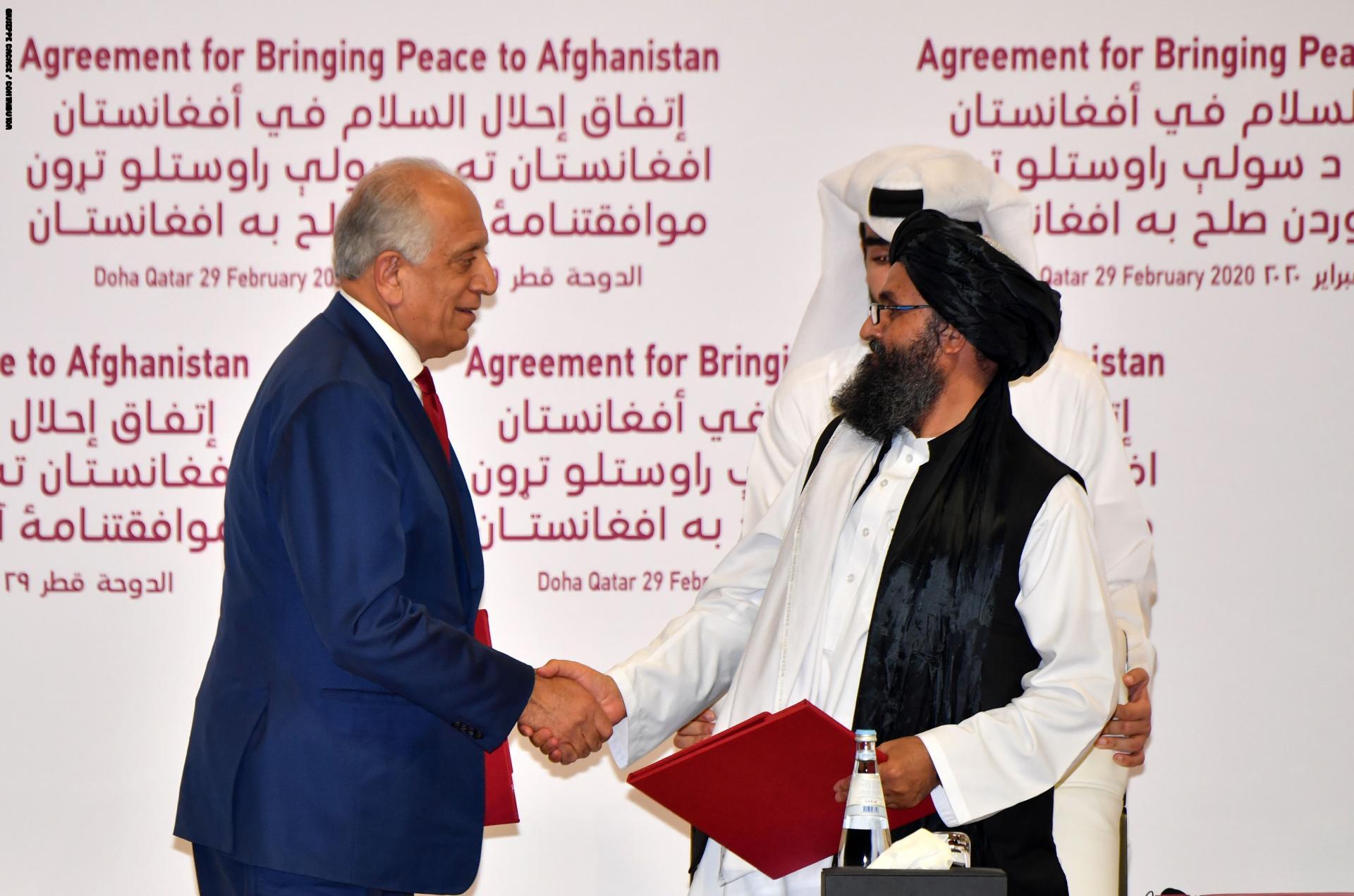 إتفاق سلام في أفغانستان بين أمريكا وطالبان ترفضه إيران