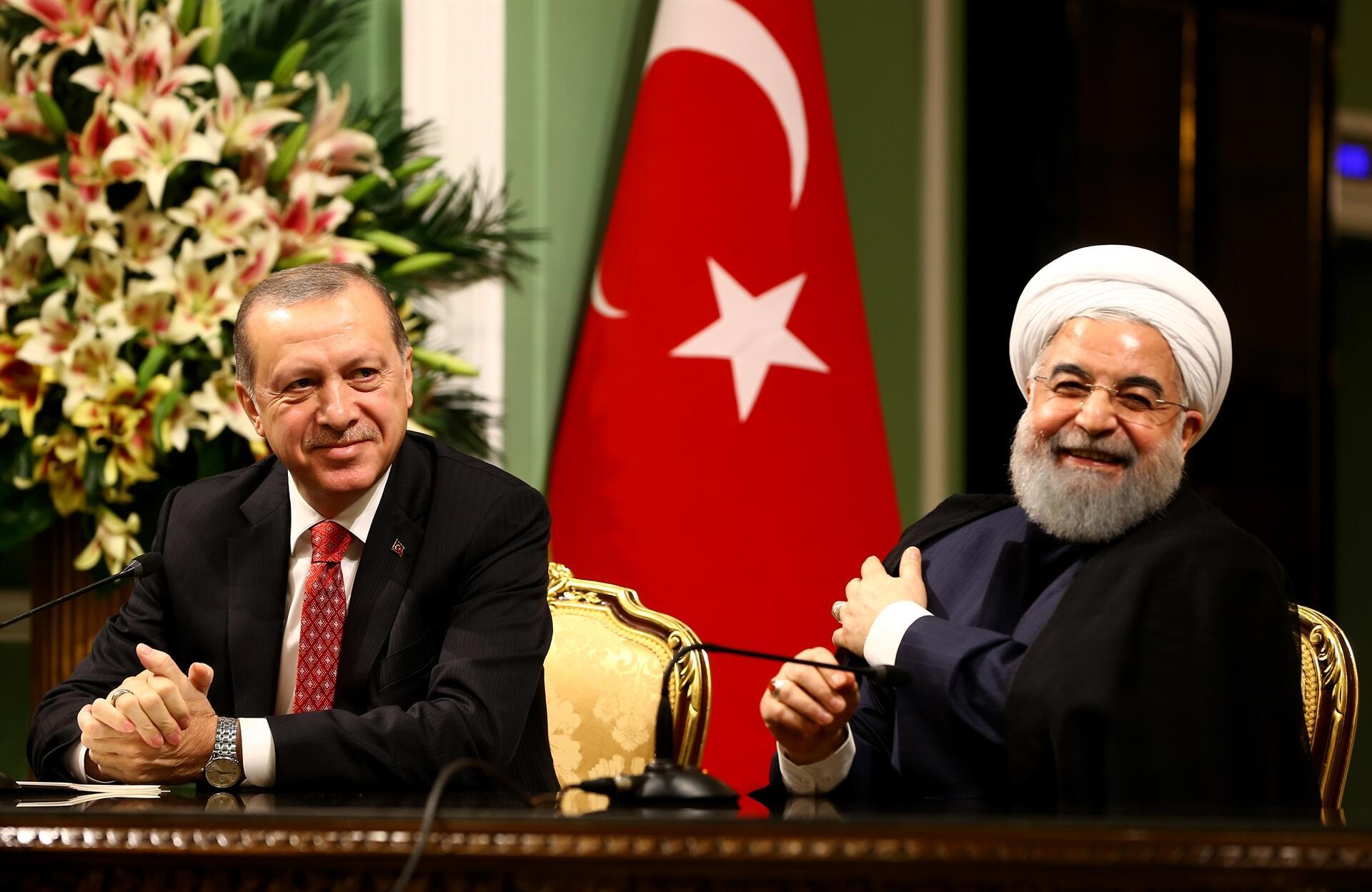 الموقف التركي من العقوبات الأمريكية على إيران