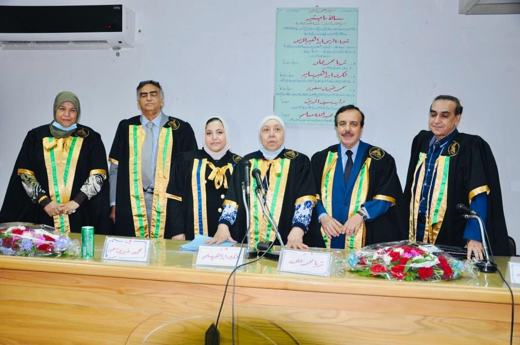 """""""الماجستير"""" في الشؤون الإيرانية بتقدير ممتاز لمديرة وحدة الرصد والترجمة بالمنتدى"""